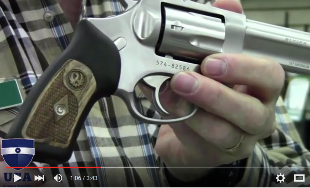 ruger sp101 357 magnum revolver review video
